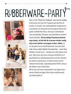 VIVA Rubberware-party