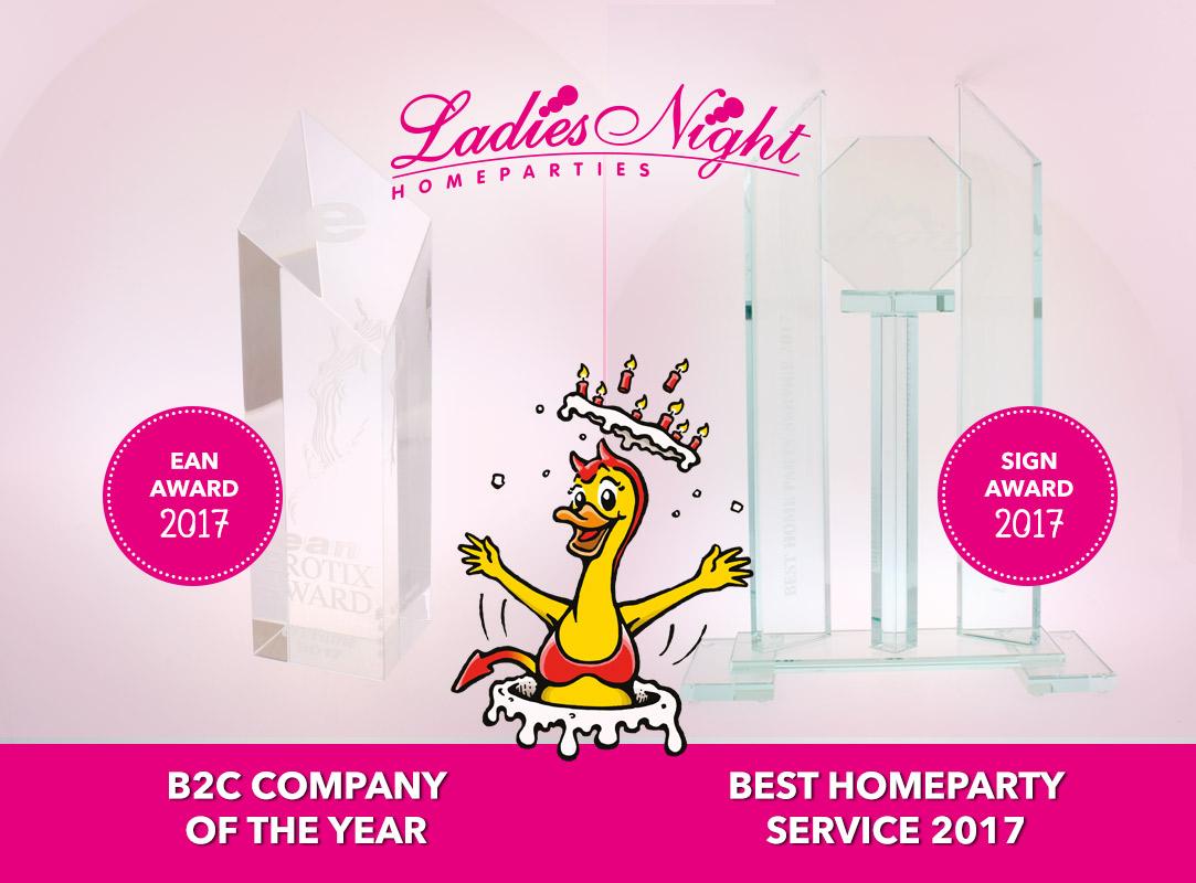 YES! 2 awards gewonnen!