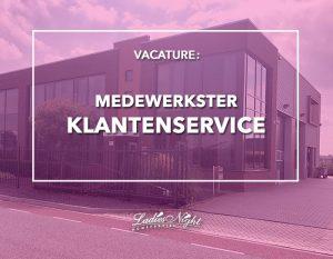Vacature medewerkster klantenservice