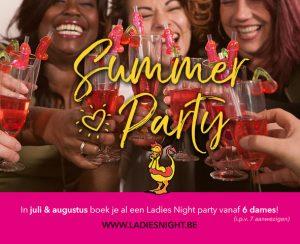Party vanaf 6 dames