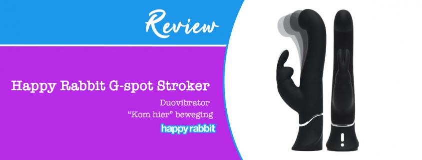 Review Happy Rabbit G-spot Stroker