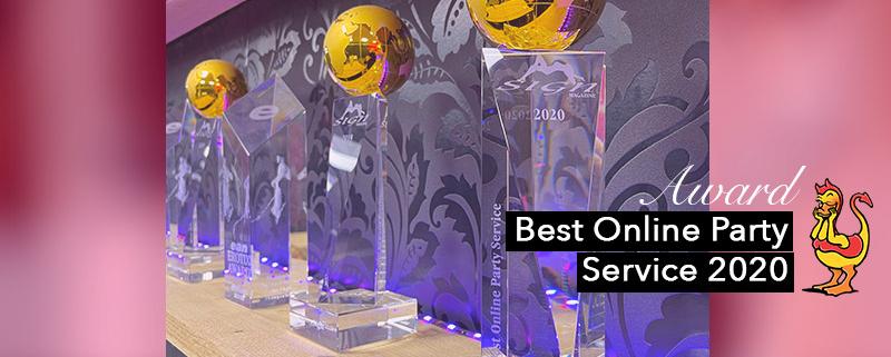 Best Online Party Service Award 2020 Ladies Night