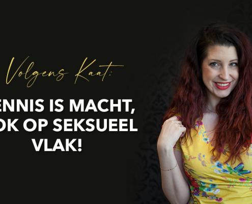 Blog Kaat Bollen kennis is macht ook op seksueel vlak ladies night